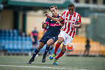 Stoke City vs Singapore Cricket Club during the Main tournament of the HKFC Citi Soccer Sevens on 22 May 2016 in the Hong Kong Footbal Club, Hong Kong, China. Photo by Lim Weixiang / Power Sport Images