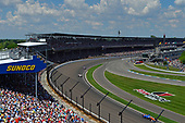 Scott Dixon, Chip Ganassi Racing Honda, Oriol Servia, Scuderia Corsa with RLL Honda, Alexander Rossi, Andretti Autosport Honda