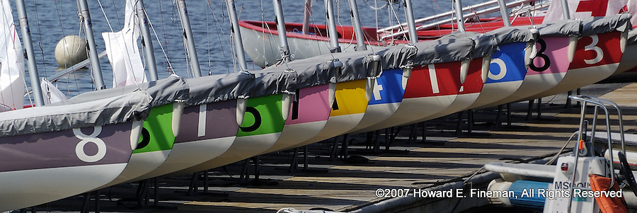 Tech Dinghies, Charles River