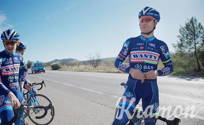 Antoine Demoitié (BEL/Wanty-Groupe Gobert)<br /> <br /> Pro Cycling Team Wanty-Groupe Gobert <br /> <br /> Pre-season Training Camp january 2016