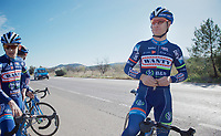 Antoine Demoitié (BEL/Wanty-Groupe Gobert)<br /> <br /> Pro Cycling Team Wanty-Groupe Gobert <br /> <br /> Pre-season Training Camp january 2016
