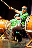 St. Louis Osuwa Taiko Drumming Showcase at William D. Purser, DC Center at  Logan College of Chiropractic in Chesterfield, MO on Oct 8, 2011.