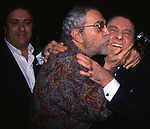 """NINO MANFREDI ED ALBERTO SORDI ALLA PREMIERE DI """"C'ERAVAMO TANTO AMATI """" ROMA 2001"""