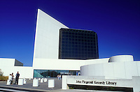 JFK, Boston, John F. Kennedy Library, MA, Massachusetts, The Museum at the John Fitzgerald Kennedy Library in Boston