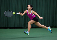 March 14, 2015, Netherlands, Rotterdam, TC Victoria, NOJK, Lian Tran (NED)<br /> Photo: Tennisimages/Henk Koster