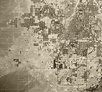 historical aerial map view McCarran Airport, Clark County, Las Vegas, Nevada, 1973