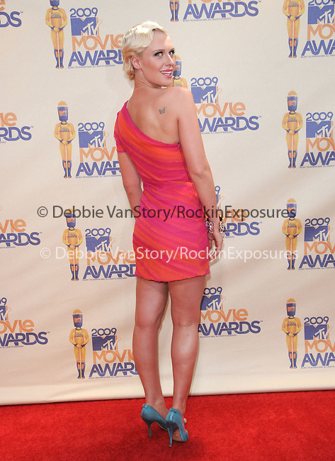 CariDee English at The 2009 MTV Movie Awards held at Universal Ampitheatre  in Universal City, California on May 31,2009                                                                                      Copyright 2009 Debbie VanStory/NYDN
