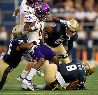 Photography of the U.S. Navy Midshipmen v.  The East Carolina Pirates, Saturday afternoon September 14, 2019 at Navy-Marine Corps Memorial Stadium in Annapolis, Maryland. <br /> <br /> Photos by: PatrickSchneiderPhoto.com