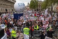 """18.05.2013 - """"Defend London's NHS"""" Demonstration"""