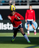 Shannon Boxx.  The USWNT defeated Scotland, 4-1, during a friendly at EverBank Field in Jacksonville, Florida.