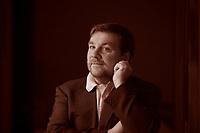 Luca Mercalli è un meteorologo, divulgatore scientifico e climatologo italiano, noto al pubblico televisivo italiano per la partecipazione alla popolare trasmissione Che tempo che fa. Pordenonelegge 9. settembre 2016. Photo by Leonardo Cendamo