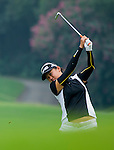 Michelle Koh of Malaysia in action during the Hyundai China Ladies Open 2014 Pro-am on December 10 2014 at Mission Hills Shenzhen, in Shenzhen, China. Photo by Li Man Yuen / Power Sport Images
