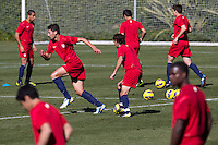 CARSON, California - January 17, 2013; US MNT during Winter training camp at Home Depot Center.