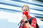 26.09.2020, Sochi Autodrom, Sochi, FORMULA 1 VTB RUSSIAN GRAND PRIX 2020, im Bild<br />Sebastian Vettel (GER#5), Scuderia Ferrari<br /> <br /> Foto © nordphoto / Bratic