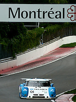 The #01 BMW Riley of Scott Pruett and Memo Rojas races to victory in the Montreal 200, Circuit Gilles Villenueve, Montreal, Quebec, Canada, August 2010.  (Photo by Brian Cleary/www.bcpix.com)