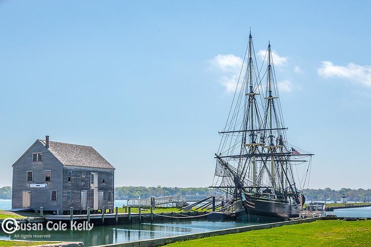 "The ""Friendship"" at the Salem Maritime National Historic Site, in Salem, Massachusetts, USA"