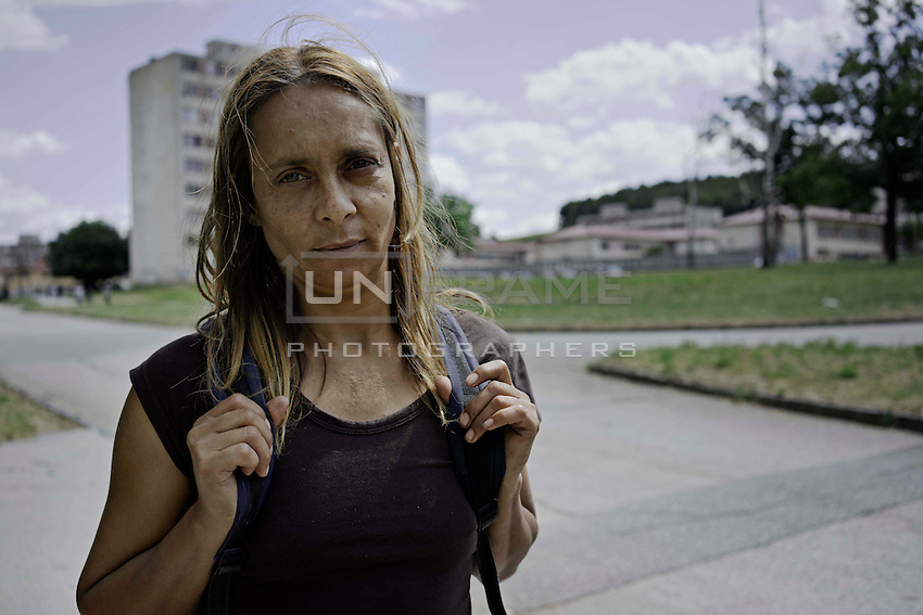 Lunik IX is now home to five thousand Roma, since 2011 the local government have demolished five blocks subsequently living Roma inhabitant now where to live. This is Eveta who has been living in Lunik IX for some years, she has witnessed the decline in conditions and now faces the prospect of eviction.