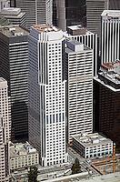 aerial photograph 50 Fremont Center office skyscraper San Francisco