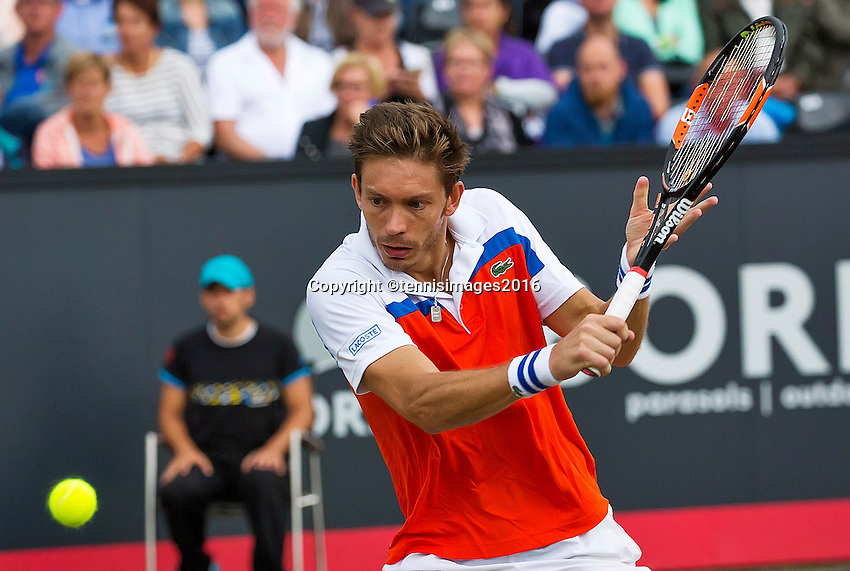 Den Bosch, Netherlands, 12 June, 2016, Tennis, Ricoh Open, Nicolas Mahut (FRA)<br /> Photo: Henk Koster/tennisimages.com