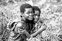 Mozambico, Africa, bambini amicizia
