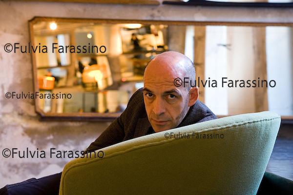 Milano 20/12/2007.Antonio Marras.Antonio Marras at in his showroom