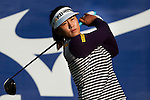 TAOYUAN, TAIWAN - OCTOBER 22: Amy Yang of South Korea tees off on the 14th hole during day three of the LPGA Imperial Springs Taiwan Championship at Sunrise Golf Course on October 22, 2011 in Taoyuan, Taiwan. Photo by Victor Fraile / The Power of Sport Images