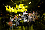 Visitors enjoy French house DJ duo CASSIUS session as part of the Longines Masters of Hong Kong on 20 February 2016 at the Asia World Expo in Hong Kong, China. Photo by Moses Ng / Power Sport Images