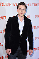 """Marek Oravec<br /> poses at the Washington Hotel before the premiere of """"Our Kind of Traitor"""" held at the Curzon Mayfair, London<br /> <br /> <br /> ©Ash Knotek  D3113 05/05/2016"""