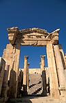 Jordan, Jerash. The Cathedral&#xA;<br />