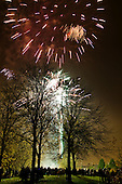 Queen's Park Gardens annual firework display.