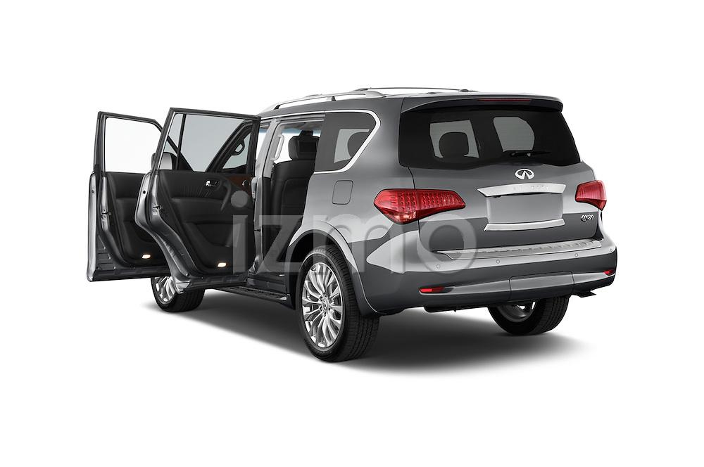 Car images of a 2017 Infiniti QX80 3.5 5 Door SUV Doors