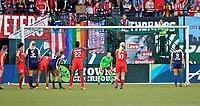 Portland, OR - Wednesday, May 30, 2018: Portland Thorns FC vs North Carolina Courage at Providence Park.