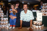 Sonny Bono and wife Mary and son 1990<br /> Photo By Adam Scull/PHOTOlink.net