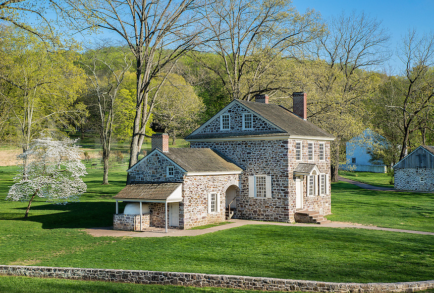 General Washington's Headquarters, Valley Forge, Pennsylvania, USA