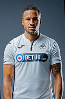 Pictured: Martin Olsson. Thursday 29 August 2018<br />Re: Swansea City FC player and staff profile photo-shoot at Fairwood Training Ground, Wales, UK