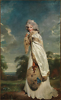 Elizabeth Farren, Later Countess of Derby - by Thomas Lawrence, 1790