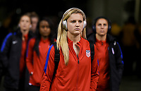 Vancouver, Canada - Thursday November 09, 2017:Lindsey Horan  during an International friendly match between the Women's National teams of the United States (USA) and Canada (CAN) at BC Place.