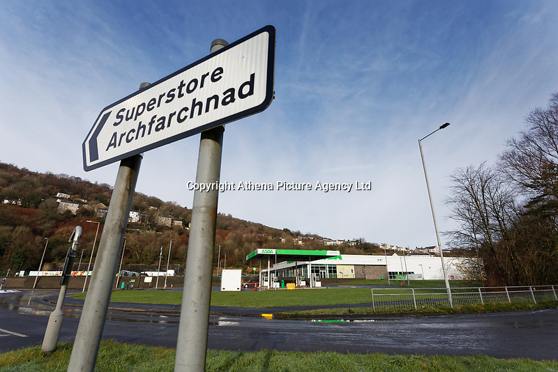 STORY BY KARL WEST<br /> The ASDA store in Ystalyfera, south Wales, which has been built on land owned by a Council in England. Wednesday 23 January 2019