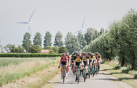 Team LottoNL-Jumbo pacing the peloton to control the race for teammates Primoz Roglic (GC leader) & Dylan Groenewegen (sprinter)<br /> <br /> Ster ZLM Tour (2.1)<br /> Stage 2: Tholen > Hoogerheide (186.8km)