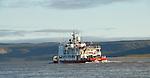 Canadian Coastguard vessel Dunmit on Mackenzie river