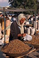 Gewürze auf Markt, Douz, Tunesien