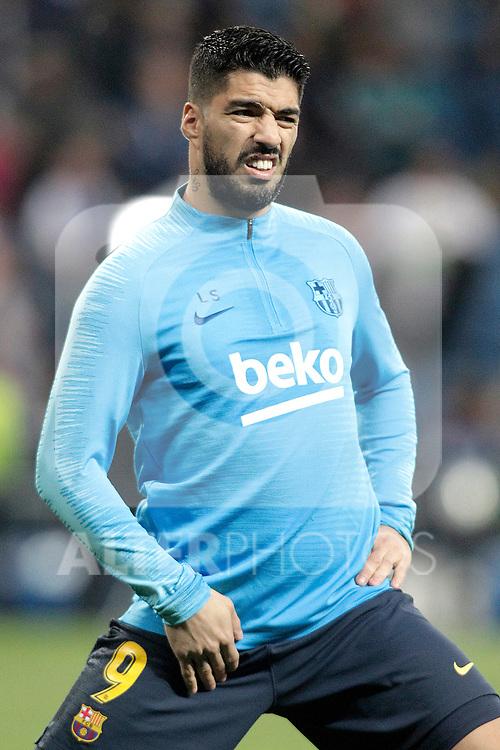 FC Barcelona's Luis Suarez during La Liga match. February 27,2019. (ALTERPHOTOS/Alconada)