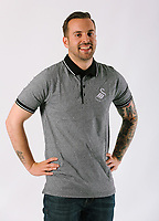 Pictured: Jordan Harris. Friday 02 June 2017<br /> Re: Swansea City FC clothes photo-shoot at the Liberty Stadium, Swansea, Wales, UK
