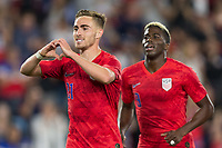 SAINT PAUL, MN - JUNE 18: Tyler Boyd of the United States during a 2019 CONCACAF Gold Cup group D match between the United States and Guyana on June 18, 2019 at Allianz Field in Saint Paul, Minnesota.