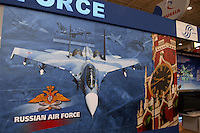 - stand of the Russian Air Force....- stand dell'aviazione militare russa