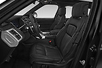 Front seat view of a 2018 Land Rover Range Rover Sport HSE Dynamic 5 Door SUV front seat car photos