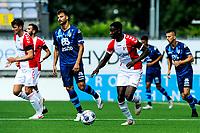 EMMEN - Voetbal, FC Emmen - Heracles Almelo , voorbereiding seizoen 2021-2022, 25-07-2021,  FC Emmen speler Leonel Miguel