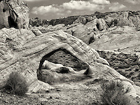 White Arch. Valley of Fire State Park, Nevada