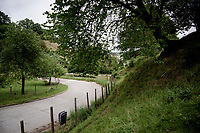De Slingerberg in Kanne/Riemst, right next to the Dutch border,  where you climb out of the River Meuse valley via some challenging hairpins; pretty unique in Flanders.<br /> <br /> Limburg cycling hotspots<br /> Cycling In Flanders <br /> Flanders Tourist Board<br /> <br /> ©kramon