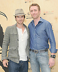 Ian Somerhalder and Philippe Cousteau attends Last Night I Swam with a Mermaid  book launch Earth Day celebration hosted by Kimberly & Michael Muller and Philippe Cousteau at the Annenberg Community Beach House in Santa Monica, California on April 22,2012                                                                               © 2012 DVS / Hollywood Press Agency